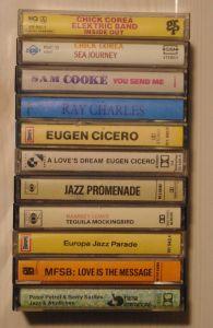11x jazz casete audio originale TOP!