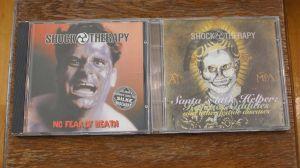 "2 CD albume Dark wave Schock Therapy ""No fear of death"" + ""Santa'a Little Helper"""