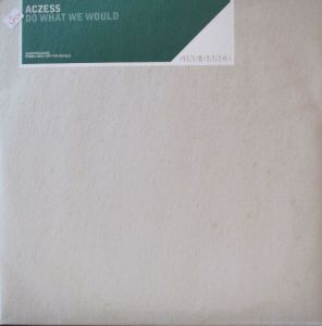 2 x vinyl Aczess ‎– Do What We Would