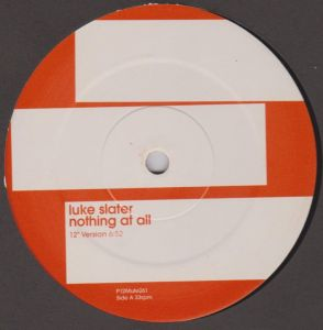 2 x  vinyl Luke Slater ‎– Nothing At All