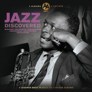 3  LP  # 6 artisti Jazz  , sigilat