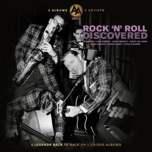 3  LP  # 6 artisti  ROCK N' ROLL, sigilat