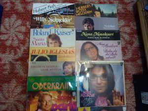 30 discuri vinil / vinyl muzica in lb. Germana
