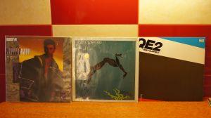 3x LP albume vinil Mike Oldfield / Steve Winwood /Jeffrey Ross