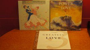 """5 albume LP vinil""""Power of Love""""x2/+""""The Greatest Love""""x2/+Hugo Strasser"""