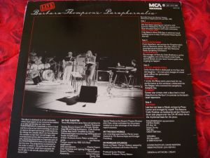 6 albume vinil LP B.T.Paraphernalia,A.Vollenweider,Barclay.J.H,Journey,Gronemeyer