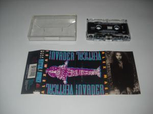 Alex Masi: Vertical Invader (1990) (caseta originala NM, hard & heavy)