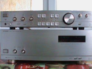 Amplificator Luxman M03+Preamplificator C03