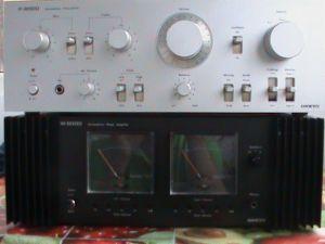 Amplificator ONKYO M-8000 si Preamplificator P-8000