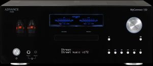 Amplificator/Streamer/CD/DAC Advance Acoustic MyConnect 150 (preamplificare lampi)