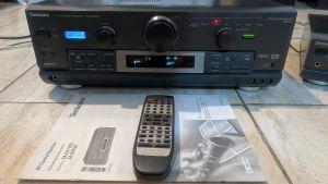 Amplituner Technics SA-DX1050 MOS-FET, cap de serie, telecomanda