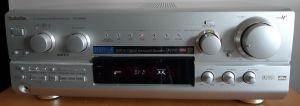 Amplituner Technics SA-DX940 cu DTS, intrari digitale, telecomanda