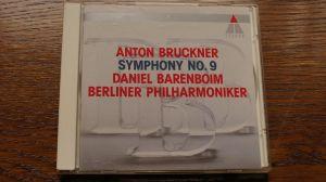 Anton Bruckner-Symphony no.9 Daniel Barenboim Berliner Philarmoniker Teldec 1991