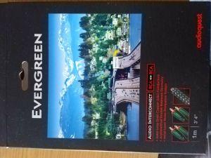 Audioquest Evergreen RCA Cablu 1 Metru