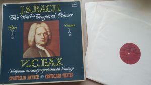 Bach 24 preludii si fugi 4 discuri