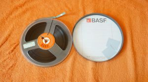 Banda magnetofon BASF inregistrare Sergio Endrigo