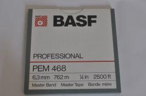 Banda magnetofon BASF PEM 468 Professional