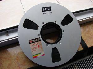 Banda magnetofon  profesionala  Basf cve 26r