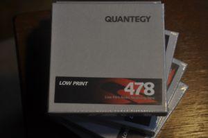 Banda magnetofon Quqntegy Low Print 478
