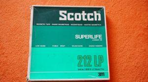 Banda magnetofon Scotch inregistrare Nini Roso si Paul Mauriat