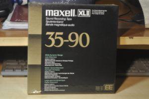 Banda Maxell XLII EE 35-90 sigilata
