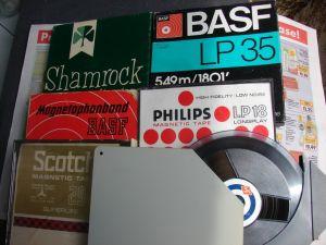 Benzi Agfa Philips Basf  6 bucati 18cm