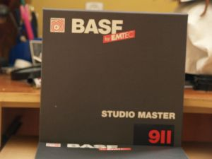 Benzi magnetofon de 26,5 cm BASF STUDIO MASTER 911