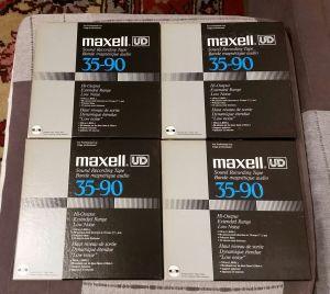 Benzi magnetofon Maxell UD 35 90 (lot 1)