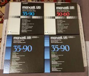 Benzi magnetofon Maxell UD 35 90 (lot 2)