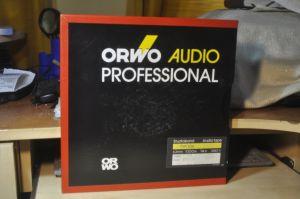 Benzi magnetofon ORWO Professional Typ 106 noi