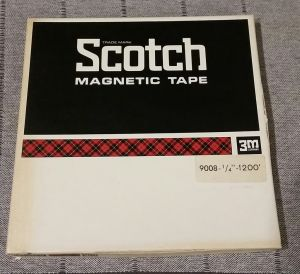 Benzi magnetofon Scotch 3M 211