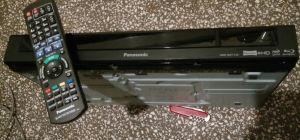Blueray RECORDER Panasonic DMR-BWT740 +telecomanda