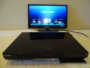 Bluray player recorder SAMSUNG BD-D8900N hard disk 1000 gb 3D HDMI usb