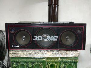 Boombox Hitachi TRK 7620E 3D Super Woofer