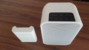 Boxa Wi-Fi si bluetooth Bluesound Flex 2i + Baterie originala BP100 WHITE PACK