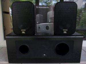 Boxe JBL Subcontrol 1G subwoofer stereo+2 monitoare+carte tehnica,U.S.A
