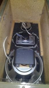 Boxe vintage difuzoare Alnico Isophon DIN 45500