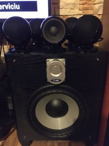 CABASSE Alcyone 5 Sateliți High-End 250W-RMS Prețul de CATALOG 2000$