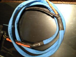 Cablu de boxe Zeus Blue Copper 2x3m