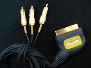 Cablu Rca  Scart  Oehlbach  Gold