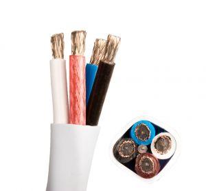Cabluri de boxe Supra Cables Quadrax 4x2.0 , Made in Sweden