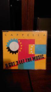 """Cappella - """" U got 2 let the music"""" maxi single"""