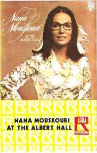 Caseta audio Nana Mouskouri – Nana Mouskouri At The Albert Hall