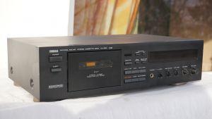 Casetofon deck YAMAHA KX-650 cu 3 capete cu telecomanda