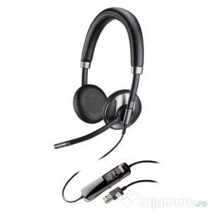 Casti plantronics blackwire c725, binaural, noise cancelling