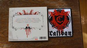 CD Album Caliban - The Awakening cu imagine album brodata pe panza