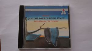 Cd album clasic Messiaen Quatuor Pour La Fin Du Te