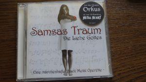 CD album Samsas Traum – Die Liebe Gottes 1-st press 1999