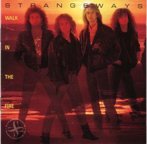 CD album Strangeways – Walk In The Fire USA first pressed