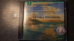Cd album Tchaikovsky: Grande Sonate; Album pour en